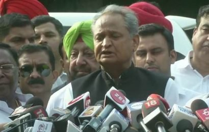 Hope Rahul Gandhi reviews our request, continues as party chief: Ashok Gehlot after Congress CMs meet