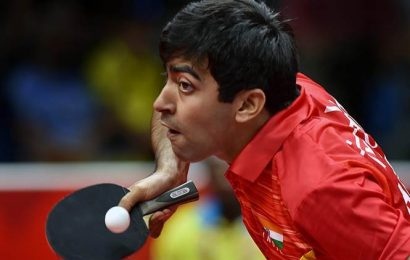 Harmeet Desai, Ayhika Mukherjee win as India complete golden sweep in Commonwealth Table Tennis Championships