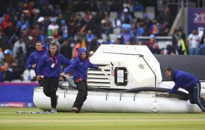 India vs New Zealand World Cup 2019 1st Semi-Final: Rain stops New Zealand at 211/5; what would be India's D/L target?