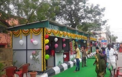 Hyderabad-based couple recycle plastic waste into bus shelters and kiosks