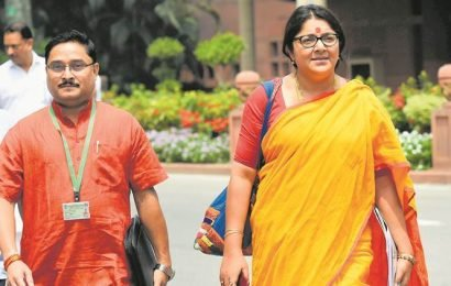 From birth to death, cut money everywhere in Bengal: BJP MP Locket Chatterjee