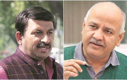 Manish Sisodia sues Delhi BJP chief Manoj Tiwari for defamation after classroom 'scam' charge