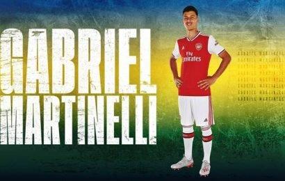 Arsenal sign Brazilian forward Gabriel Martinelli on long-term deal