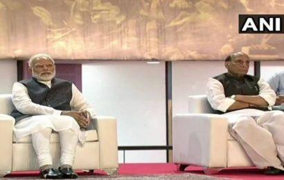 Watch: PM Modi, Rajnath Singh attend Kargil Vijay Diwas commemorative function