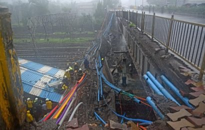 A year since Andheri bridge collapse, CR, WR await IIT-B reports on all 445 bridges