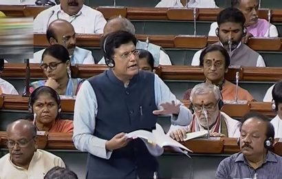 Piyush Goyal slams Congess over corporatisation of Rae Bareli coach factory