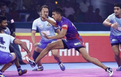 Dabang Delhi maintain unbeaten run over Tamil Thalaivas