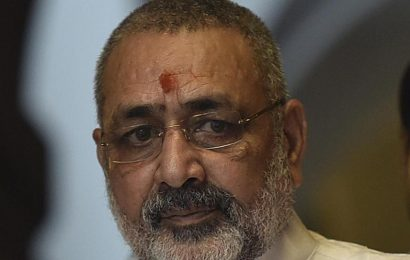 On World Population Day, Giriraj demands 2 child norm, links it to religion
