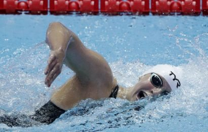 Phelps hails 'incredible' Milak after losing world record