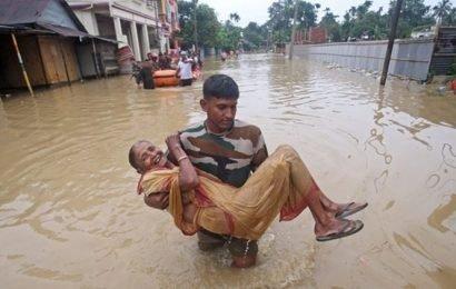 Tripura floods leave two dead, over 17,000 people homeless