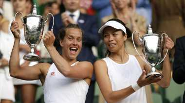 Wimbledon 2019: Barbora Strycova and Hsieh take women's doubles title