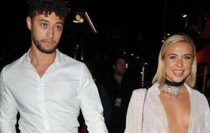 Gabby Allen 'dumps Myles Stephenson after catching him sexting other girls'