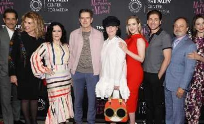 Rachel Brosnahan Strikes a Pose at 'The Marvelous Mrs. Maisel' Interactive Exhibit at Paley Center!