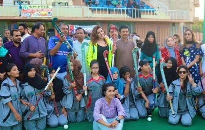 Pak actress working on reviving Pakistan hockey