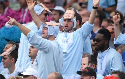 PIX: England fans continue 'assault' on Australia