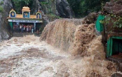 Around 30 people stranded in Tarikere temple rescued