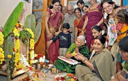 Family recalls leader on Varamahalakshmi