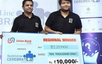 Bizongo wins Bengaluru leg of Cerebration quiz