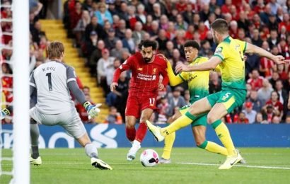 Liverpool thump promoted Norwich in Premier League opener