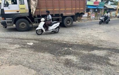 Plea to mend battered areas at key intersections in Mambakkam