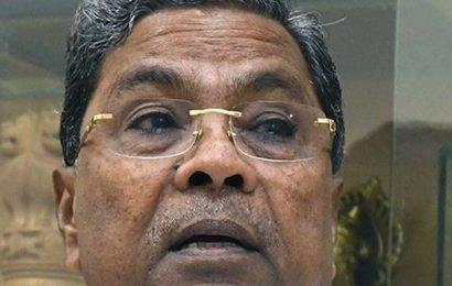 Siddaramaiah: Declare floods a 'national calamity'