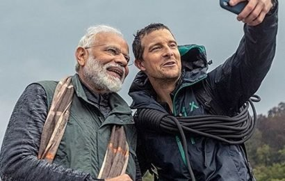 Taking first vacation in 18 yrs: PM on 'Man vs Wild'
