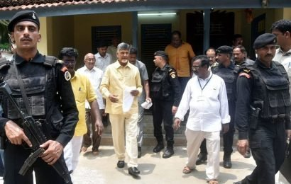 High Court Orders To Increase Security For Naidu