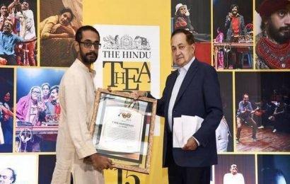 V. Balakrishnan's stark new script bags The Hindu Playwright Award