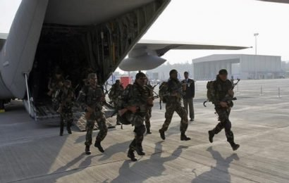 Govt presses IAF aircraft for rapid induction of troops in Kashmir