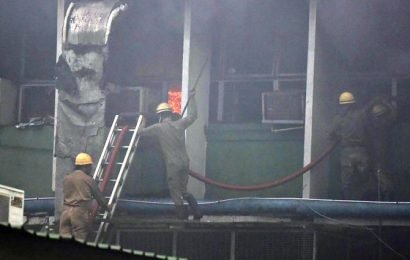 34 fire tenders battle AIIMS fire; samples, records gutted