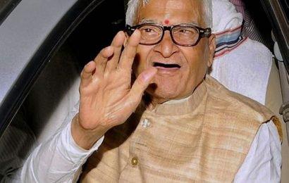 Jagannath Mishra, the last Congress CM of Bihar, dies