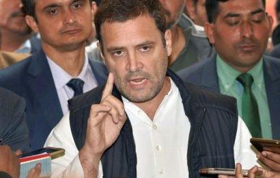 Need freedom to travel, not plane: Rahul hits back at J-K Guv