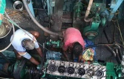 Stranded T.N. fishermen start return voyage