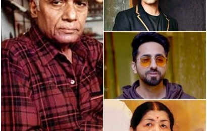 #RIPKhayyamSaab: Ayushmann Khurrana, Karan Johar, Lata Mangeshkar and others mourn the loss of legendary music composer | Bollywood Life