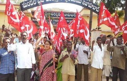 Nizamabad Gram Panchayat workers cry for more wages