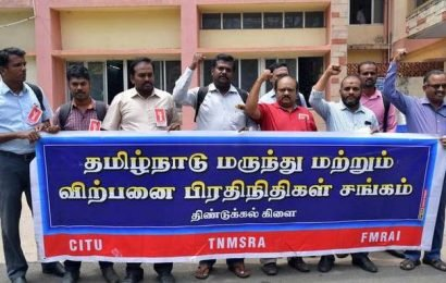 Sales representatives protest labour codes