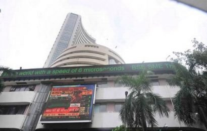Sensex jumps over 200 points; Nifty nears 11,100