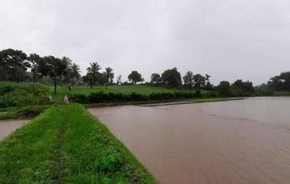 Normal life paralysed as Shivamogga receives torrential rains