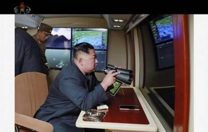 Kim supervised test-firing of rockets, claims N. Korea
