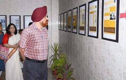Poster exhibition on Sri Aurobindo held