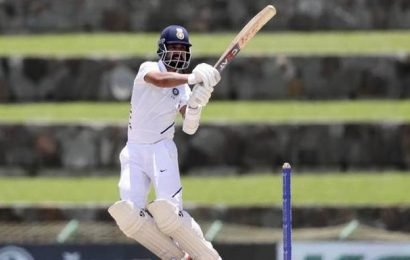Rahane's 81 anchors India revival in first Test against West Indies