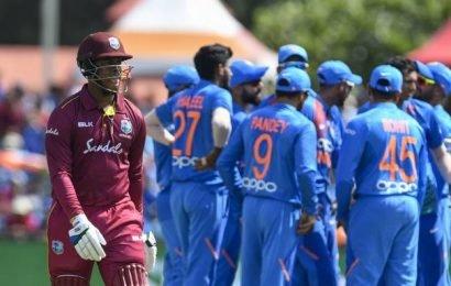 WI vs IND: Live   West Indies vs India second T20 international scorecard