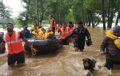 Karnataka: At least 9 dead, around 44,000 evacuated as flood, torrential rains hit state