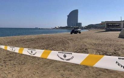 Barcelona: Mystery bomb discovery sparks beach evacuation