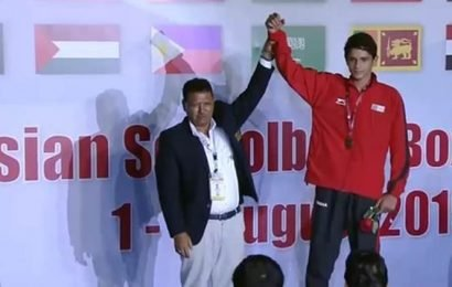 Delhi cop's son bags gold at Kuwait boxing event