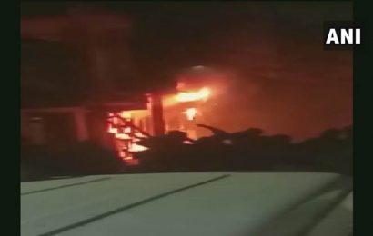 Delhi fire: Five dead, 11 injured as fire engulfs multi-storey building in Zakir Nagar