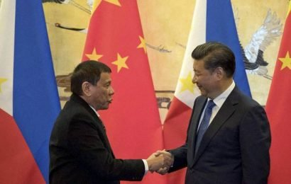 Philippines' Duterte in China amid expectation he'll raise sea disputes