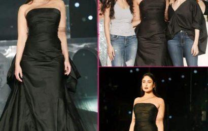 LFW 2019 के आखिरी दिन Kareena Kapoor Khan ने बरपाया अपने ग्लैमर का कहर, ब्लैक गाउन में स्वैग से फैशन शो का किया समापन