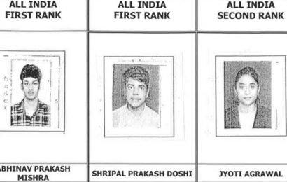 Jaipur boy Akshat Goyal tops ICAI CA exam, meet the toppers