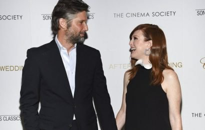 After the Wedding was a family affair for Julianne Moore